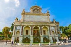 Фонтана Paola в Риме, Италии Стоковое Фото