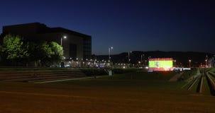 Фонтаны в цветах флага Испании акции видеоматериалы