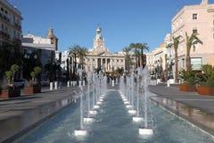 фонтаны Испания cadiz Стоковая Фотография RF