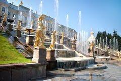 фонтаны каскада грандиозные Стоковое Фото
