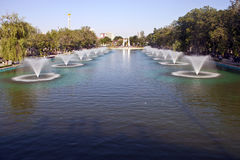 фонтаны ankara стоковое изображение rf