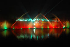 фонтан вокальный стоковые фотографии rf