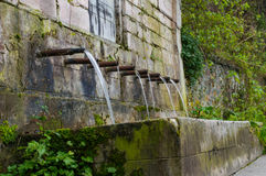 Фонтан воды Стоковое Изображение