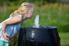 Фонтан воды стоковая фотография