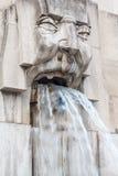 Фонтан воды Стоковое Фото
