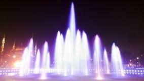 фонтан выдержки длинний Стоковое Изображение