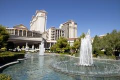 Фонтан в гостинице и казино Сизарс Палас в Лас-Вегас, Неваде Стоковая Фотография RF