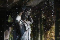 Фонтан в парке правителя Стоковые Фотографии RF
