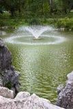 Фонтан в парке Стоковое Изображение RF