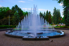Фонтан в парке Стоковое Фото