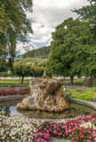 Фонтан в парке Stein am Rhein Стоковые Изображения RF