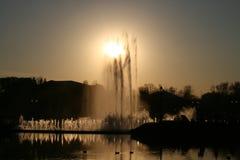 Фонтан в парке Tsaritsyno Стоковое Изображение RF
