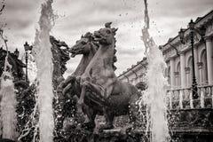 Фонтан в саде Александра Стоковая Фотография RF
