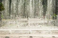 Фонтан города Стоковая Фотография RF