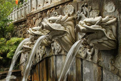 фонтан дракона Стоковое Изображение RF
