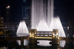 фонтан Дубай Стоковое фото RF