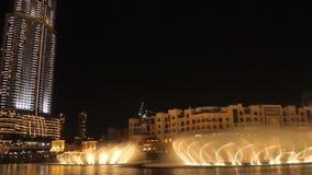 фонтан Дубай акции видеоматериалы