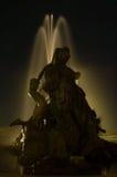 фонтан замока budapest buda Стоковое Изображение RF