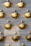 Фонтан золота Happyness в Киеве Стоковая Фотография RF