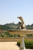 фонтан исторический Стоковое Изображение