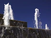 фонтан каскада стоковые фотографии rf