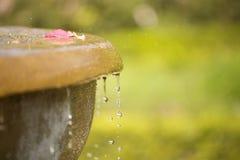 фонтан края Стоковое Изображение
