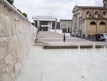 Фонтан музея Pacis Ara, Рим Стоковые Фото