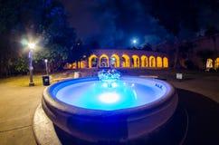 Фонтан на парке бальбоа Стоковая Фотография