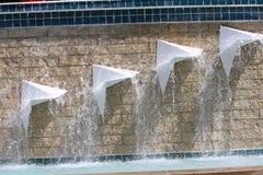 Фонтан на стадионе Hammond Стоковое Фото
