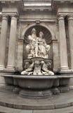 Фонтан Нептуна, дворец музея Альбертины, вена, Австрия Стоковое фото RF