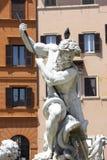 Фонтан Нептуна, Рим стоковая фотография