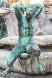 Фонтан Нептуна Bartolomeo Ammannati florence Италия Стоковые Изображения RF
