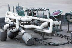фонтан оборудования современный стоковое изображение rf