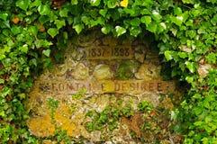 фонтан пущи desir e fontainebleau Стоковая Фотография