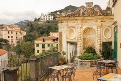 Фонтан раковины Сад Minerva salerno Италия стоковые изображения
