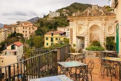 Фонтан раковины Сад Minerva salerno r стоковые изображения