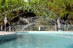 фонтан сверкная Стоковая Фотография