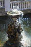 Фонтан с скульптурами гусынь Стоковые Изображения