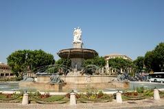 фонтан Франция Провансаль en AIX Стоковое фото RF