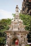 Фонтан флоры, форт, Мумбай, Индия стоковые фотографии rf