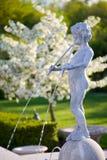 фонтан херувима стоковое фото rf