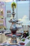 фонтан шампанского Стоковое Изображение
