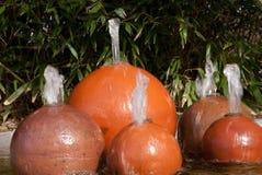Фонтан шариков посуды Стоковое Изображение RF