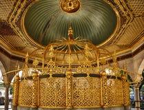 Фонтан для ритуальных омовений в Hagia Sophia, Стамбуле стоковая фотография rf