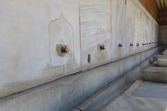 Фонтан для ритуальных омовений Hagia Sophia, Istambul, Турции стоковое изображение