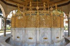 Фонтан для ритуальных омовений Hagia Sophia, Istambul, Турции стоковые изображения