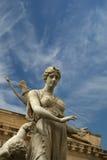 Фонтан Artemide. Сиракуз (Siracusa, Sarausa) стоковое изображение rf