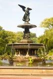 Фонтан Bethesda, Central Park, нью-йорк Стоковое Изображение