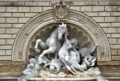 фонтан bologna Стоковая Фотография