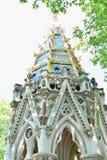 Фонтан Buxton мемориальный, мемориал и выпивая фонтан в садах башни Виктория, Millbank, праздновать Вестминстера, Лондона Великоб стоковое изображение